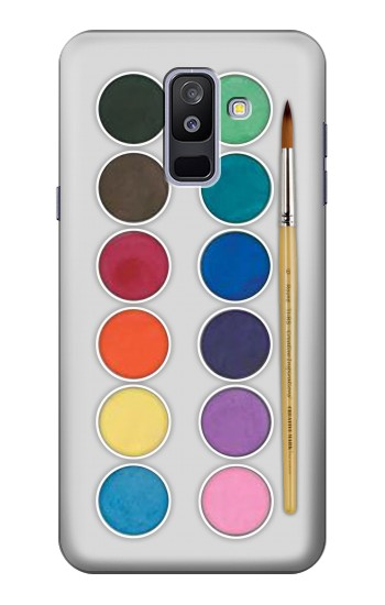 Printed Mixing Color Plate Samsung Galaxy A6+ (2018) Case