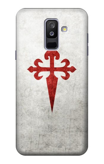 Printed Order of Santiago Cross of Saint James Samsung Galaxy A6+ (2018) Case