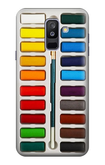 Printed Watercolor Paint Set Samsung Galaxy A6+ (2018) Case