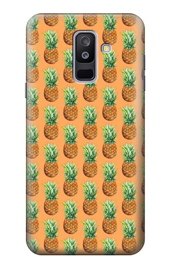 Printed Pineapple Pattern Samsung Galaxy A6+ (2018) Case