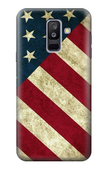 Printed US National Flag Samsung Galaxy A6+ (2018) Case