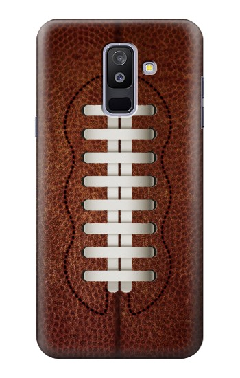 Printed Leather Vintage Football Samsung Galaxy A6+ (2018) Case