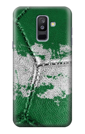 Printed Nigeria Flag Vintage Football 2018 Samsung Galaxy A6+ (2018) Case