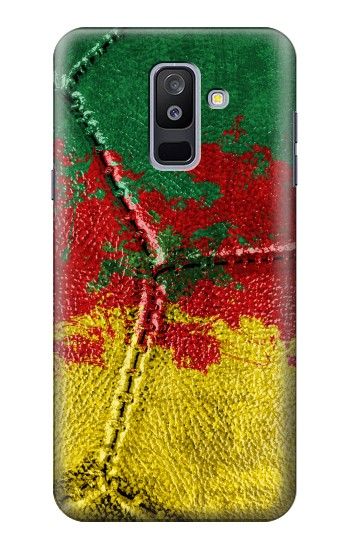 Printed Senegal Flag Vintage Football 2018 Samsung Galaxy A6+ (2018) Case