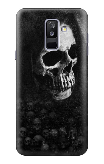 Printed Death Skull Samsung Galaxy A6+ (2018) Case