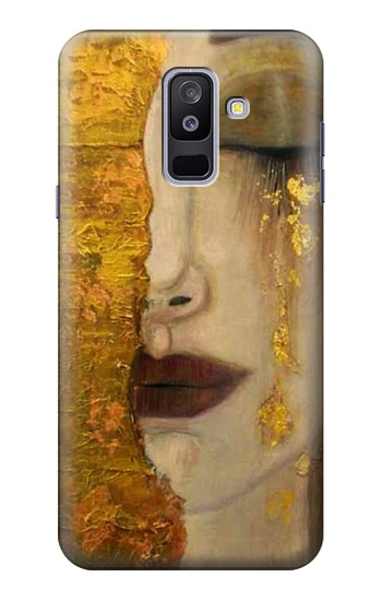 Printed Gustav Klimt Golden Tears Samsung Galaxy A6+ (2018) Case