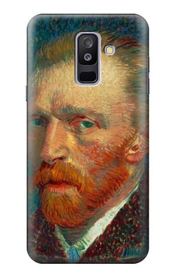 Printed Vincent Van Gogh Self Portrait Samsung Galaxy A6+ (2018) Case