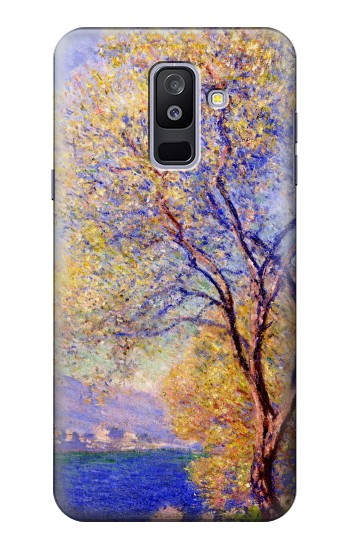 Printed Claude Monet Antibes Seen from the Salis Gardens Samsung Galaxy A6+ (2018) Case