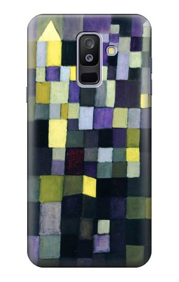 Printed Paul Klee Architecture Samsung Galaxy A6+ (2018) Case