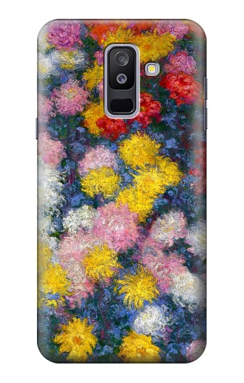 Printed Claude Monet Chrysanthemums Samsung Galaxy A6+ (2018) Case