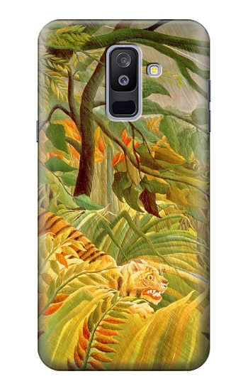 Printed Henri Rousseau Tiger in a Tropical Storm Samsung Galaxy A6+ (2018) Case
