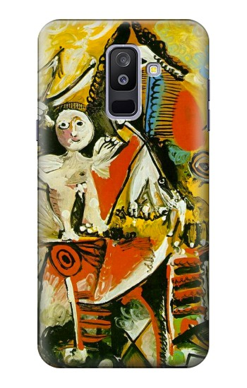 Printed Picasso Painting Cubism Samsung Galaxy A6+ (2018) Case