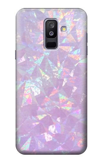 Printed Iridescent Holographic Photo Printed Samsung Galaxy A6+ (2018) Case
