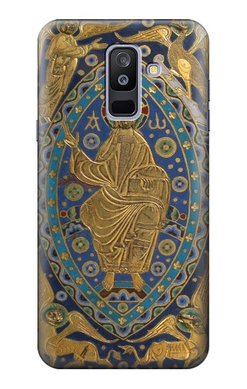 Printed Book Cover Christ Majesty Samsung Galaxy A6+ (2018) Case