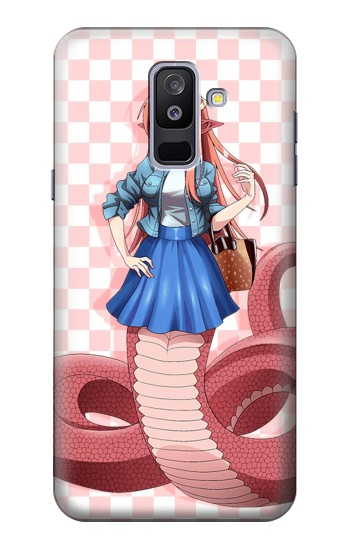 Printed Daily Life With A Monster Girl Lamia Miia Samsung Galaxy A6+ (2018) Case