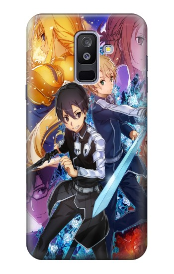 Printed Sword Art Online Alicization Samsung Galaxy A6+ (2018) Case