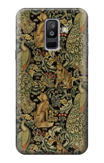 Printed William Morris Forest Velvet Samsung Galaxy A6+ (2018) Case