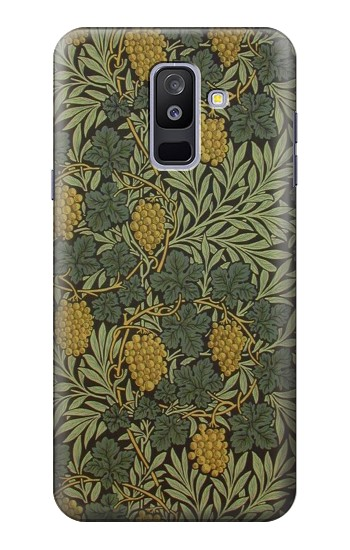 Printed William Morris Vine Pattern Samsung Galaxy A6+ (2018) Case