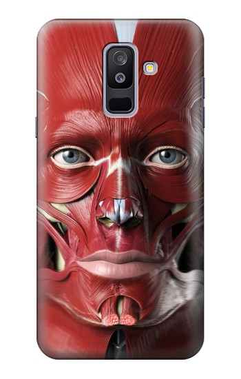 Printed Anatomy of The Face Samsung Galaxy A6+ (2018) Case