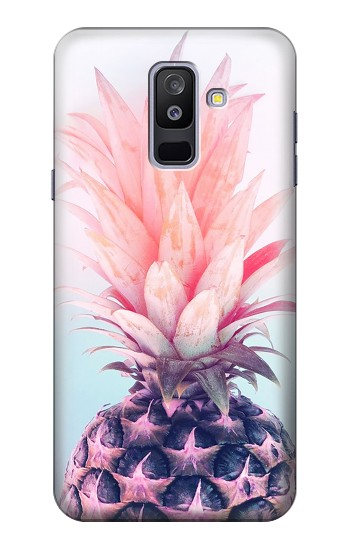 Printed Pink Pineapple Samsung Galaxy A6+ (2018) Case