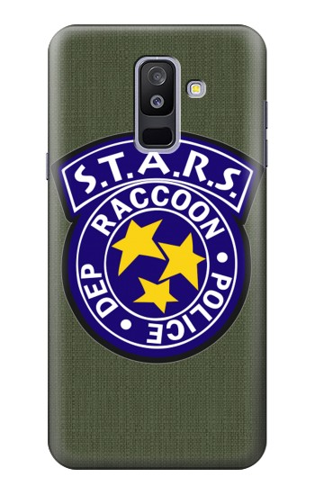 Printed Resident Evil Star Badge Chris Outfit Samsung Galaxy A6+ (2018) Case