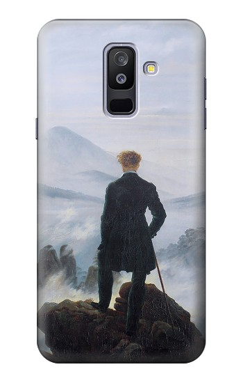 Printed Wanderer above the Sea of Fog Samsung Galaxy A6+ (2018) Case