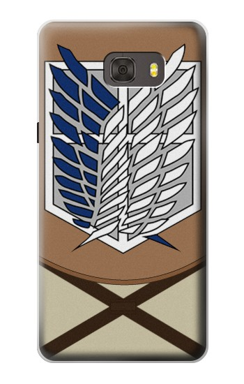 Printed Attack on Titan Survey Corps Uniform Samsung Galaxy alpha Case
