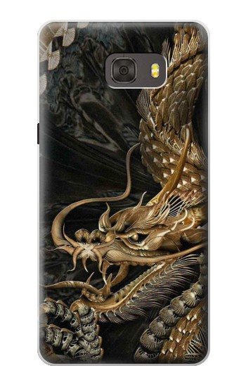 Printed Gold Dragon Samsung Galaxy alpha Case