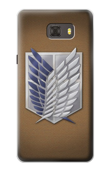 Printed Recon Troops Attack on Titan Samsung Galaxy alpha Case