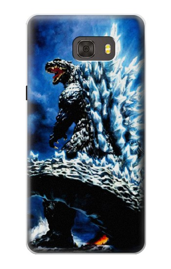 Printed Godzilla Giant Monster Samsung Galaxy alpha Case