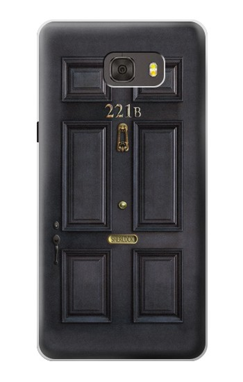 Printed Sherlock Holmes Black Door 221B Samsung Galaxy alpha Case