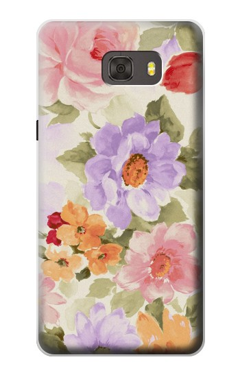 Printed Sweet Flower Painting Samsung Galaxy alpha Case