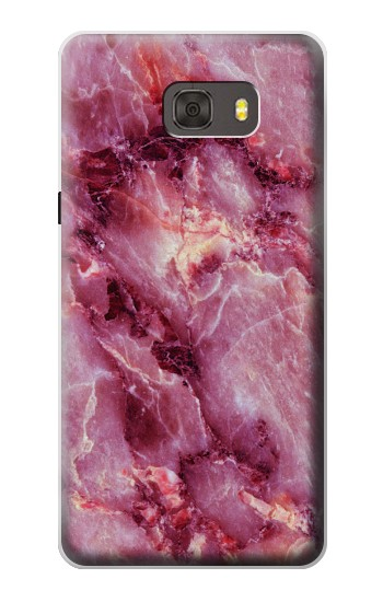 Printed Pink Marble Texture Samsung Galaxy alpha Case