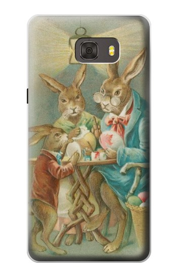 Printed Easter Rabbit Family Samsung Galaxy alpha Case