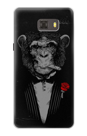 Printed Funny Monkey God Father Samsung Galaxy alpha Case