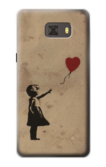 Printed Girl Heart Out of Reach Samsung Galaxy alpha Case