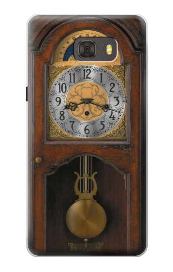 Printed Grandfather Clock Antique Wall Clock Samsung Galaxy alpha Case