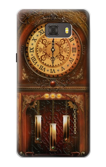 Printed Grandfather Clock Samsung Galaxy alpha Case