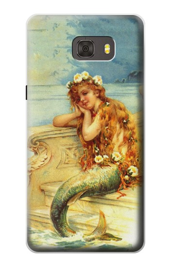 Printed Little Mermaid Painting Samsung Galaxy alpha Case