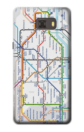 Printed London Underground Map Samsung Galaxy alpha Case