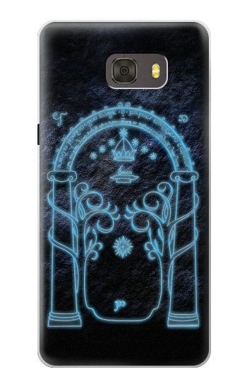 Printed Lord of The Rings Mines of Moria Gate Samsung Galaxy alpha Case