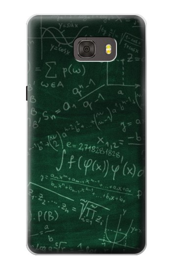 Printed Math Formula Greenboard Samsung Galaxy alpha Case