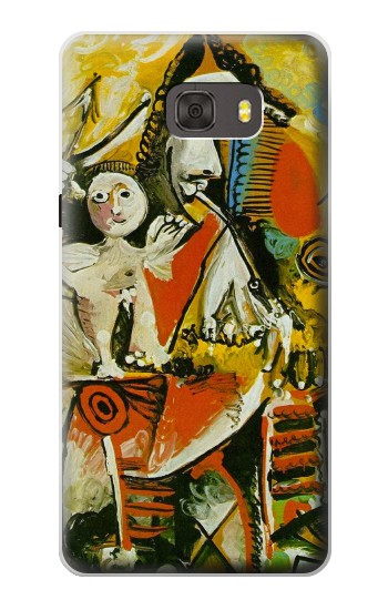 Printed Picasso Painting Cubism Samsung Galaxy alpha Case