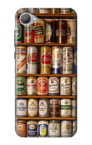 Printed Beer Cans Collection HTC Desire 12 Case