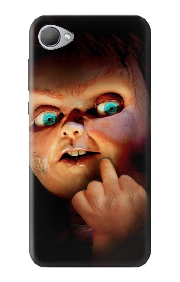 Printed Chucky Middle Finger HTC Desire 12 Case