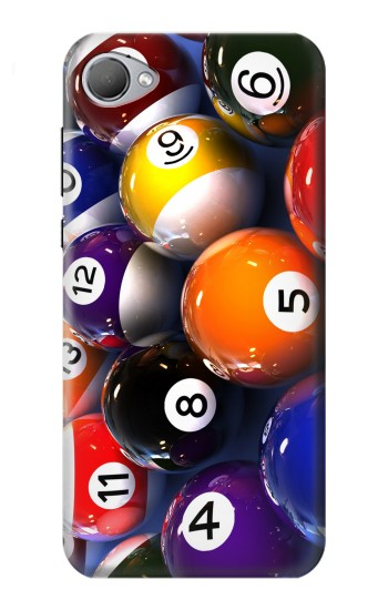 Printed Billiard Pool Ball HTC Desire 12 Case