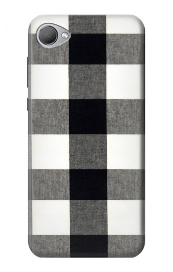 Printed Black and White Buffalo Check Pattern HTC Desire 12 Case