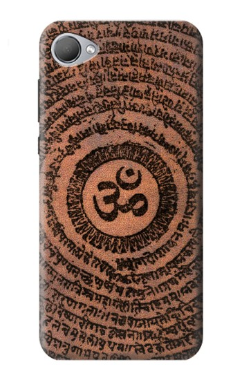 Printed Sak Yant Ohm Symbol Tattoo HTC Desire 12 Case