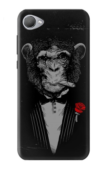 Printed Funny Monkey God Father HTC Desire 12 Case