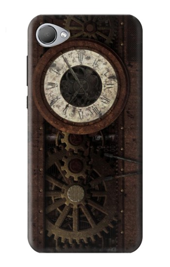 Printed Steampunk Clock Gears HTC Desire 12 Case